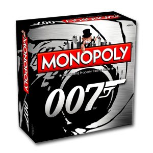 James Bond 007 Monopoly [2017 release] cover - monopoly - pop toys