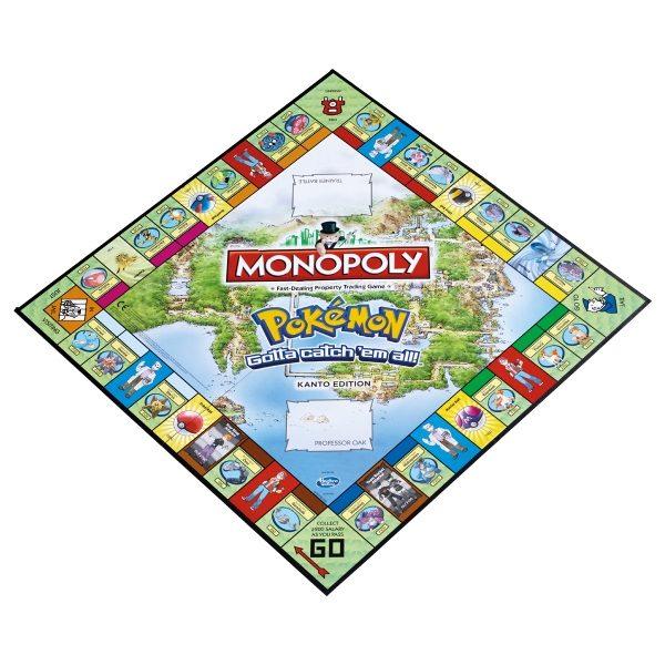 """Pokemon Monopoly """"Kanto Edition"""" raw - monopoly - pop toys"""