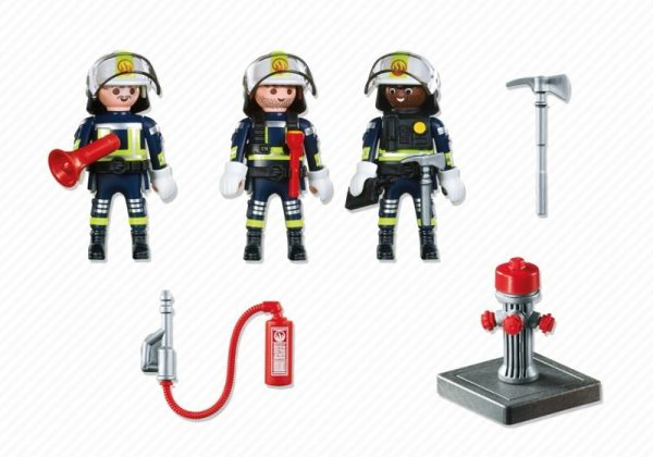Playmobil City Action 5366 Fire Rescue Crew - fire rescue crew products inclusion playmobil - pop toys