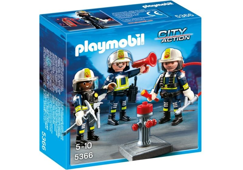 Playmobil City Action 5366 Fire Rescue Crew - image 5366-box on https://pop.toys