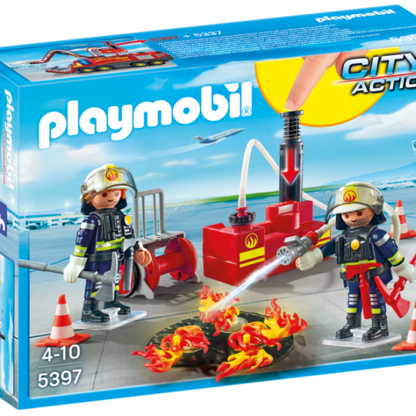 Playmobil City Action 5397 Fire Fighting Operation w/ water pump - image 5397_product_box_front-600x600 on https://pop.toys
