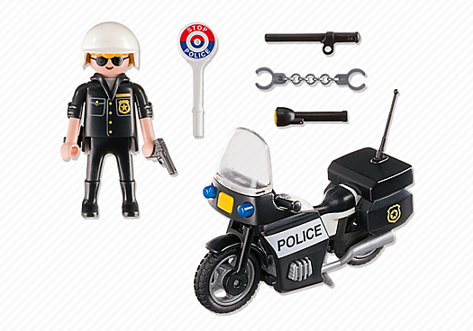 Playmobil City Action 5648 Police Carry Case - police carry case product inclusion playmobil - pop toys