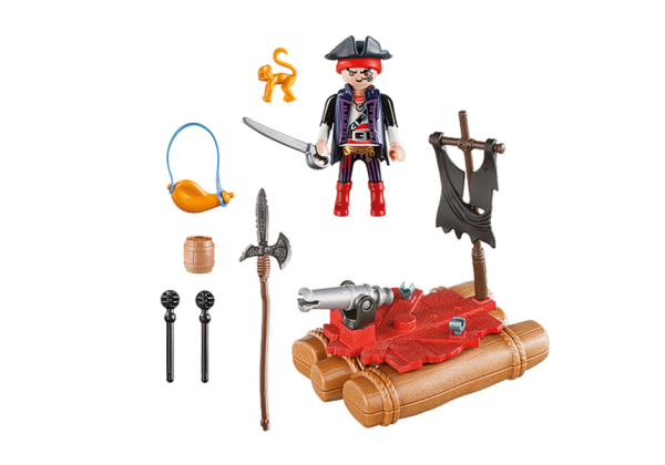 Playmobil Pirates 5655 Pirate Raft Carry Case - pirate raft action figure product inclusion playmobil - pop toys