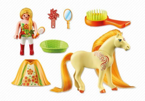 Playmobil Princess 6168 Princess Sunny with Horse - princess sunny product inclusion playmobil - pop toys