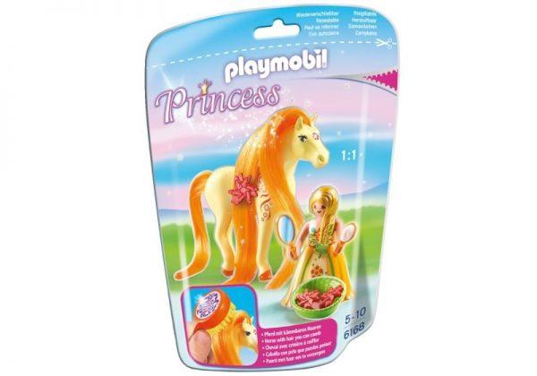 Playmobil Princess 6168 Princess Sunny with Horse - princess sunny product front playmobil - pop toys
