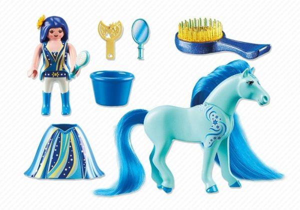 Playmobil Princess 6169 Princess Luna with Horse - princess luna unicorn product inclusion playmobil - pop toys