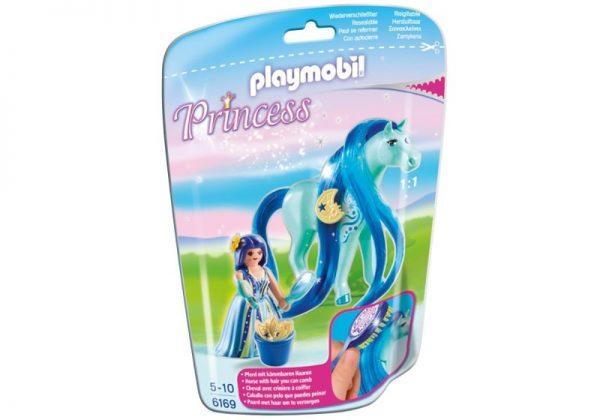 Playmobil Princess 6169 Princess Luna with Horse - princess luna unicorn front playmobil - pop toys