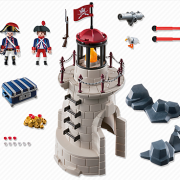 Playmobil Pirates 6680 Soldier Tower with Beacon - image 6680-15-p-contents-180x180 on https://pop.toys