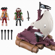 Playmobil Pirates 6682 Pirate Raft - image 6682-15-p-contents-180x180 on https://pop.toys