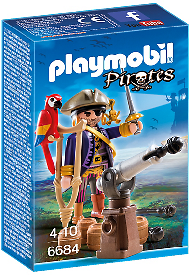 Playmobil Pirates 6684 Pirate Captain figure - image 6684-15-p-box1 on https://pop.toys