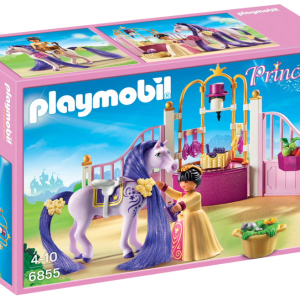 Playmobil Princess 6855 Castle Stable - image 6855_product_box_front-600x600 on https://pop.toys