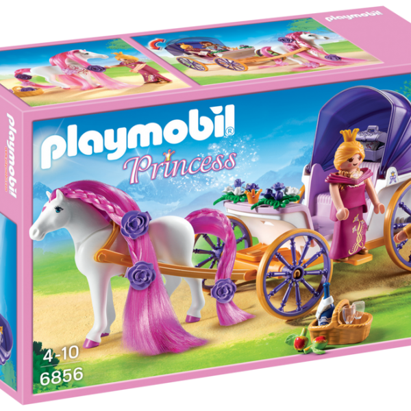 Playmobil Princess 6856 Royal Couple with Carriage - image 6856_product_box_front-600x600 on https://pop.toys