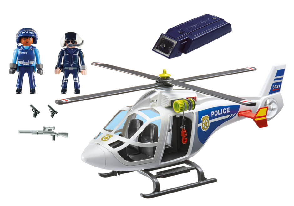 Playmobil City Action 6921 Police Helicopter with LED searchlight - image 6921_product_box_back on https://pop.toys