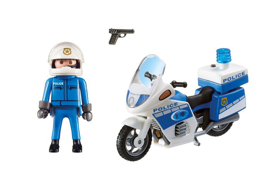 Playmobil City Action 6923 Police Motorbike with LED light - image 6923_product_box_back on https://pop.toys