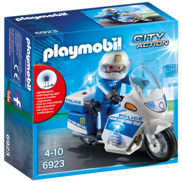 Playmobil City Action 6923 Police Motorbike with LED light - image 6923_product_box_front-600x600 on https://pop.toys