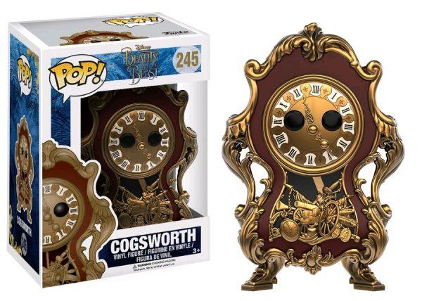 Beauty & the Beast Movie Pop Vinyl: Cogsworth #245 - Cogsworth beauty & the beast pop vinyl figure - pop toys