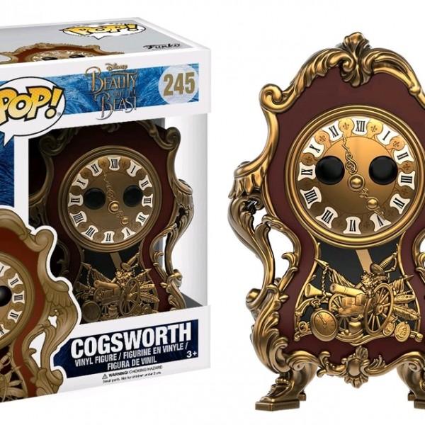 Beauty & the Beast Movie Pop Vinyl: Cogsworth #245 - image BB17-245-Cogsworth-POP-600x600 on https://pop.toys