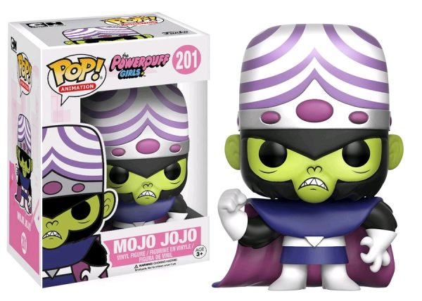 Powerpuff Girls Pop Vinyl: Mojo Jojo #201 - mojo jojo powerpuff girls pop vinyl figure - pop toys
