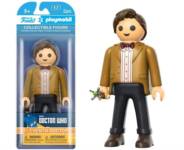 Funko Playmobil Doctor Who Eleventh Doctor pop toys action figure playmobil pop toys