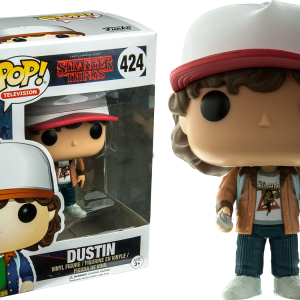 Stranger Things Pop Vinyl: Demogorgon #428 - image Stranger-Things-424-Dustin-brown-jacket-POP-300x300 on https://pop.toys