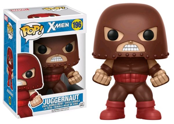 Marvel Pop Vinyl: X-Men Juggernaut #196 - juggernut pop vinyl marvel x-men - pop toys