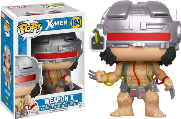 Marvel Pop Vinyl: X-Men Weapon X Wolverine #194 - weapon x marvel x-men - pop toys