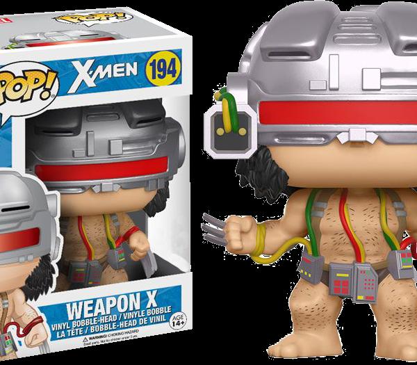 Marvel Pop Vinyl: X-Men Weapon X Wolverine #194 - image x-men-logan-weapon-x-wolverine-pop-vinyl-600x525 on https://pop.toys