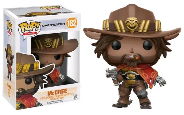 Overwatch Pop Vinyl: McCree #182 - mccree pop vinyl overwatch - pop toys