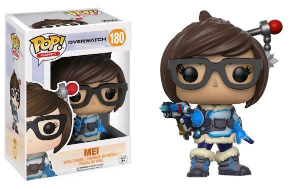 Overwatch Pop Vinyl: Mei #180 - mei pop vinyl overwatch - pop toys