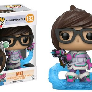Overwatch Pop Vinyl: Mei mid blizzard exclusive #183 - image Overwatch-Mei-Snowball-Flying-POP-GLAM-183-300x300 on https://pop.toys