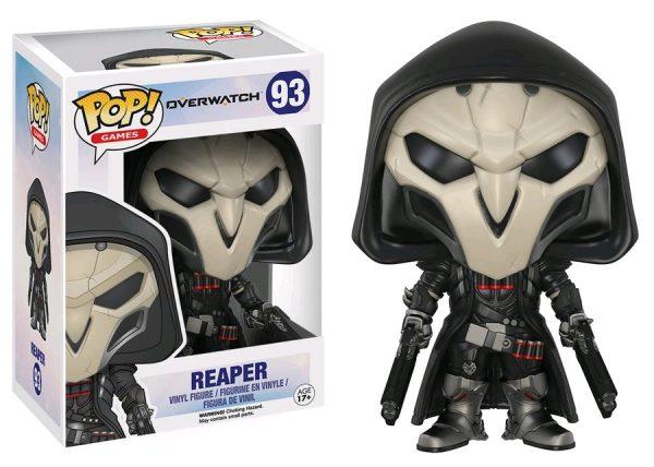 Overwatch Pop Vinyl: Reaper #93 - reaper pop vinyl overwatch - pop toys