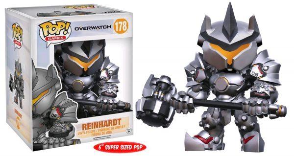 Overwatch Pop Vinyl: Reinhardt #178 6″ Oversized Pop - reinhardt pop vinyl overwatch - pop toys