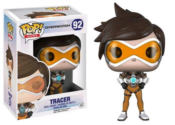 Overwatch Pop Vinyl: Tracer #92 - tracer pop vinyl overwatch - pop toys
