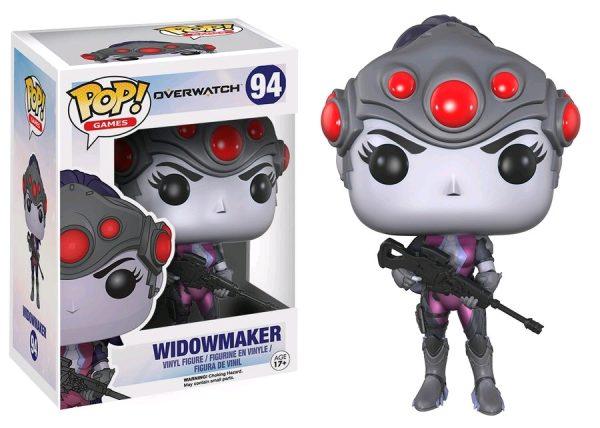 Overwatch Pop Vinyl: Widowmaker #94 - widowmaker pop vinyl overwatch - pop toys