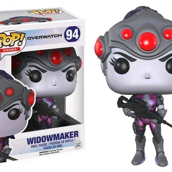 Overwatch Pop Vinyl: Widowmaker #94 - image Overwatch-Widowmaker-Pop-Vinyl-600x600 on https://pop.toys