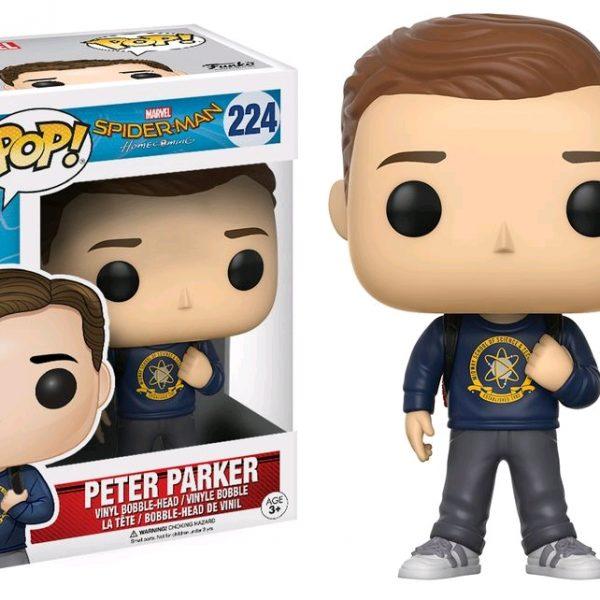 Spider-man Homecoming Pop Vinyl: Peter Parker #224 - image Spiderman-HC-Peter-Parker-POP-600x600 on https://pop.toys