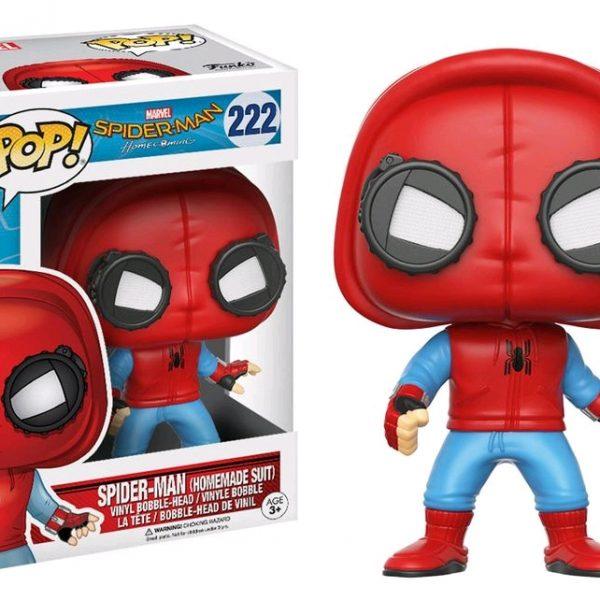 Spider-Man Homecoming Pop Vinyl: Spider-Man (Homemade suit) #222 - image Spiderman-HC-Spiderman-Homemade-Suit-222-600x600 on https://pop.toys