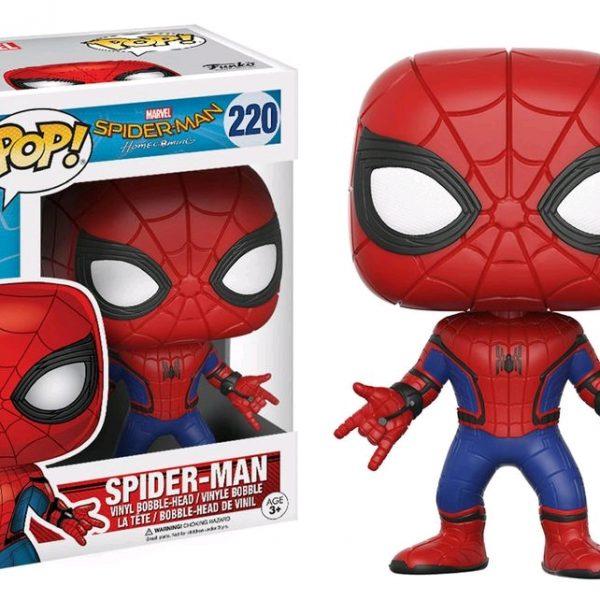 Spider-Man Homecoming Pop Vinyl: Spider-Man #220 - image Spiderman-HC-Spiderman-POP-220-600x600 on https://pop.toys