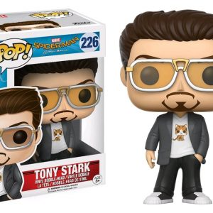 Spider-Man Homecoming Pop Vinyl: Spider-Man with headphones #265 - image Spiderman-HC-Tony-Stark-POP-226-300x300 on https://pop.toys