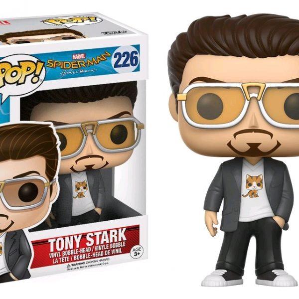 Spider-man Homecoming Pop Vinyl: Tony Stark #226 - image Spiderman-HC-Tony-Stark-POP-226-600x600 on https://pop.toys