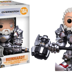 Overwatch Pop Vinyl: Mei mid blizzard exclusive #183 - image overwatch-reinhardt-unmasked-184-300x300 on https://pop.toys