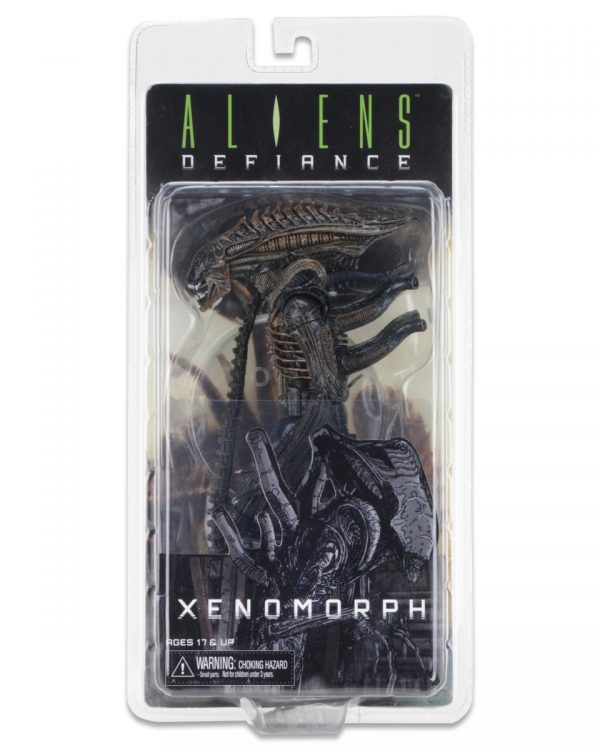 "Aliens Series 11: Defiance Xenomorph Alien 9"" action figure NECA - aliens toys - pop toys"