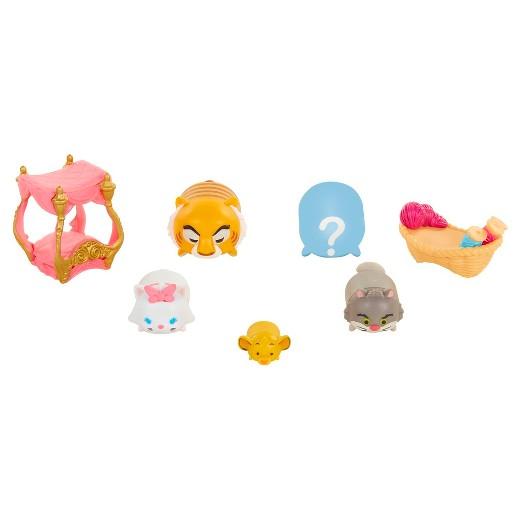Disney Tsum Tsum 7 piece set Series 7 Figures - Cat Craze - image Disney_Cat_Craze_loose on https://pop.toys