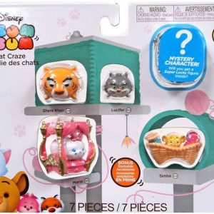 Disney Tsum Tsum 7 piece set Series 7 Figures - Cat Craze - image Disney_Cat_Craze_package-300x300 on https://pop.toys
