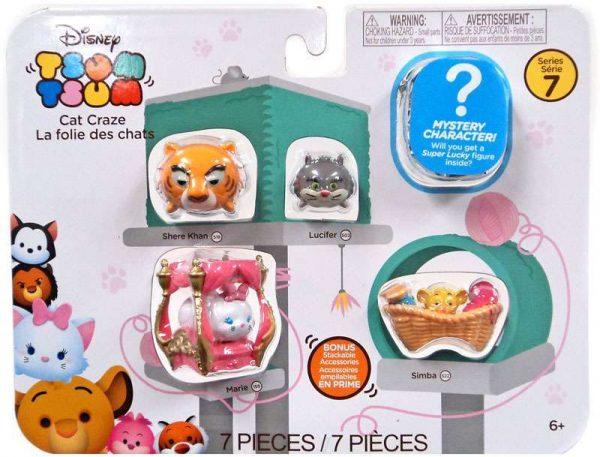 Disney Tsum Tsum 7 piece set Series 7 Figures – Cat Craze - cat craze package disney tsum tsum - pop toys