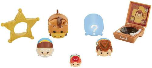 Disney Tsum Tsum 7 piece set Series 7 Figures – Woody's Round Up Toy Story - Woody's Round Up Toy Story disney tsum tsum - pop toys