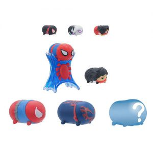 Marvel Tsum Tsum 8 Pack Series 4 Figures – Webslingers Spider-Man - webslingers spider-man marvel tsum tsum - pop toys