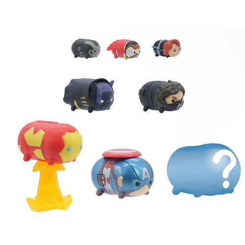 Marvel Tsum Tsum 8 Pack Series 4 Figures – Avengers Assemble - avengers assemble marvel tsum tsum - pop toys