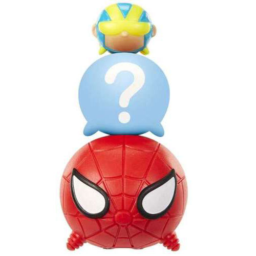 Marvel Tsum Tsum 3 Pack Series 2 Figures – Spider-Man, Giant-Man and Hidden - spider-man, giant man marvel tsum tsum - pop toys