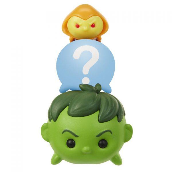 Marvel Tsum Tsum 3 Pack Series 2 Figures – Hulk, Hobgoblin and Hidden - hulk hobgoblin marvel tsum tsum - pop toys